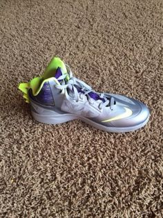 e970b3e8fe9d Nike zoom hyperfuse wolf grey court purple volt basketball shoes men s size  12.5