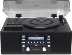 From 299.00 Teac Lpr550usb Cd Recorder With Cassette Turntable