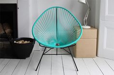 Acapulco Chair  Does it feel late to you? Maybe it's time for a little siesta, and what better place to take one than in this classic Acapulco Chair ($475)? Before you mistake it for just another trendy piece of lawn furniture, know that the Acapulco utilizes Mayan hammock-weaving techniques to create an ergonomically awesome cradle for your work-weary body