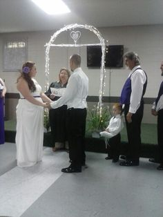 Tj and jerry.congradulations. The arch was a success.yay.