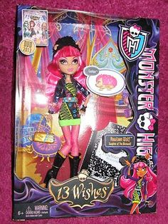 Intelligent Monster High Electrocuties Light Up Pets Mattel Watzit & Count Fabulous Figures Modern Techniques Fashion, Character, Play Dolls Dolls, Clothing & Accessories