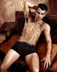 Joe Jonas and Charlotte McKinney Strip Down, Grease Up in Guess Underwear Ads Joe Jonas, Charlotte Mckinney, Flaunt Magazine, Guess Campaigns, Ad Campaigns, Nova, Ripped Body, New Underwear, Andrew Christian