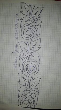Hand Embroidery Design Patterns, Embroidery Flowers Pattern, Embroidery Works, Beaded Embroidery, Cross Stitch Embroidery, Fabric Paint Designs, Stencil Designs, Colchas Quilting, Wreath Drawing