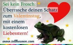 Über einen Liebesstern zum Valentinstag freut sich jeder!
