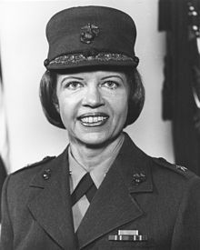 Margareta A. Brewer, First female member of the US Marine Corps - Alpha Gamma Delta