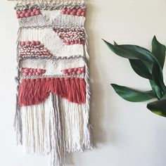 Coral  by WarpedThreadss on Etsy https://www.etsy.com/listing/211472803/coral