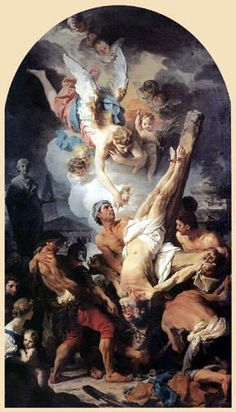 Pierre Subleyras  - The Crucifixion of Saint Peter, 1745