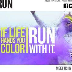 the color run @kristinking @marissaherrera