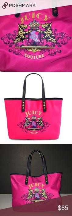 Juicy Couture Pammy Tote Juicy Couture Pammy Tote. Used a few times has a some marks but can't barley see it. Still like new. Juicy Couture Bags Totes