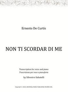 Ernesto De Curtis - voce e pianoforte #sheetmusicplus #voice #piano Lead Sheet, Transcription, Original Music, Digital Sheet Music, My Music, Piano, The Voice, The Creator, Musica