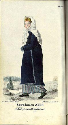 Akita, Finland, 19th Century, Helmet, Folk, Painting, Countries, Europe, Style