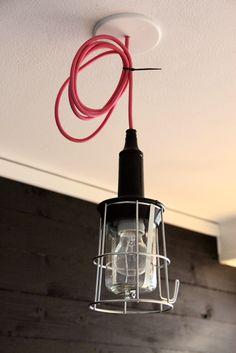 leuk idee voor simpele lamp