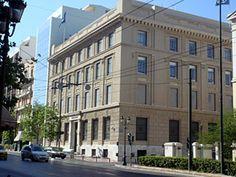 Laiki bank, Panepistimiou street.    Designed by Anastasios Metaxas