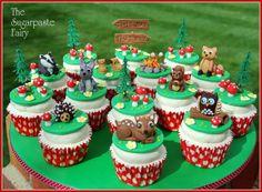 Wilderness cupcakes