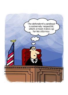 Defendant's Paralegal