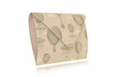 BALLOONS Continental Wallet, Balloons, Canvas, Clutches, Prints, Leather, Beast, Tela, Globes