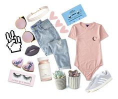 """""""make him say goodbye like a ouija"""" by justhaleyy ❤ liked on Polyvore featuring Aéropostale, Flynn&King, Wrap, CASSETTE, Fendi, adidas, Lime Crime, Humble Chic and Boohoo"""