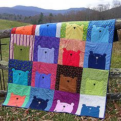 teddy bear quilt