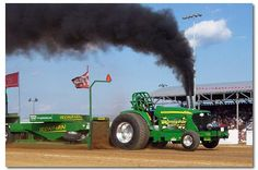 Believe it or not...I LOVE tractor pulls and have since my Uncle Joe use to pull when I was little!