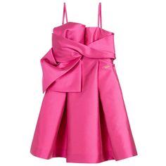 DSquared2 Girls Pink Bow Dress at Childrensalon.com