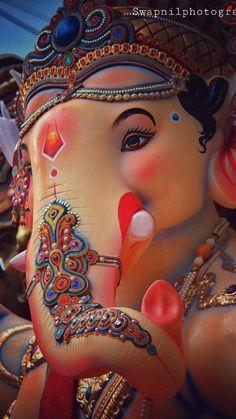 Lord Ganesha 👑n Jai Ganesh, Ganesh Lord, Ganesh Idol, Shree Ganesh, Shri Ganesh Images, Ganesha Pictures, Lord Krishna Images, Krishna Hindu, Shri Hanuman