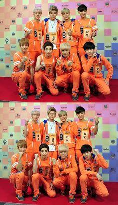 Baekhyun, Xiumin, Luhan, Suho, Tao, Kai, Kris and Sehun..ohh how I miss them!