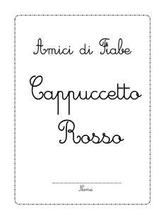La maestra linda anna cappuccetto rosso fiabe y for Maestra agnese carnevale