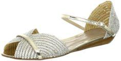Delman Women's Nifty Sandal,Natural Woven Raffia/Silver Mirror,8 B US Delman,http://www.amazon.com/dp/B00B7ZSX56/ref=cm_sw_r_pi_dp_0o0usb0FF6YCT7CX