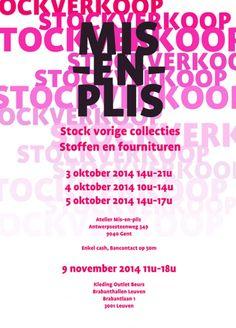Stockverkoop MIS-EN-PLIS -- Stockverkoop in Gent