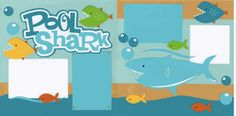 Pool Shark Page Kit-Out on a Limb Scrapbooking