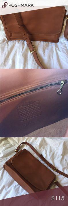 Vintage Coach satchel Brown leather Coach satchel Coach Bags Satchels