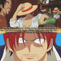 Shanks Luffy