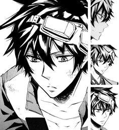Anime: Karneval  Character name:Gareki
