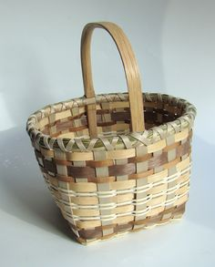 Shades of Brown -- A Berry Basket - Learn from Dianne Stanton at the 2015 Stowe Basketry Festival!
