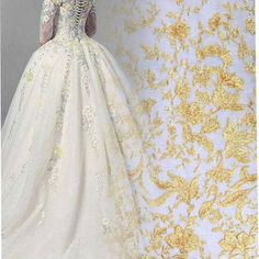 French Lace, Lace Fabric, Ball Gowns, Textiles, Embroidery, Formal Dresses, Fashion, Ballroom Gowns, Dresses For Formal
