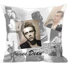 Para você que gosta dos atores de cinema, e quer tê-los sempre por perto, esta linda Almofada James Dean é uma excelente opção, seja para o quarto, para sala ou para presentear alguem. www.luisadecor.com.br