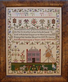 Cross N Patch The Nursery Sampler Cross Stitch by Emily Bishop