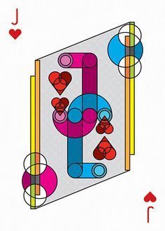 Deck of cards by 55 artists — Playing Arts Project Cool Playing Cards, Custom Playing Cards, Deck Of Cards, Card Deck, Jack Of Hearts, Collaborative Art Projects, Objet D'art, Cool Artwork, Card Games