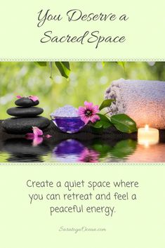 The wonderful thing is that you can create your own private oasis of peace that gives you relief from the energy of a world in turmoil. Easy Meditation, Meditation Space, Mindfulness Meditation, Spiritual Awakening, Spiritual Quotes, Positive Affirmations Quotes, Positive Quotes, Meditation Techniques, Good Night Quotes