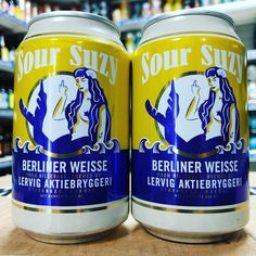 Sour Suzy cans - 4% Berliner Weisse from @lervigaktiebryggeri available now