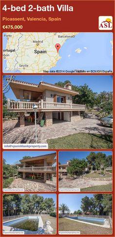 4-bed 2-bath Villa in Picassent, Valencia, Spain ►€475,000 #PropertyForSaleInSpain
