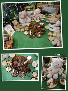 Story Baskets & Props Reading books and story telling is an everyday activity in the Early Years classroom, and I often add props or characters to go with them. Picnic Activities, Eyfs Activities, Tuff Spot, 3 Bears, Teddy Bears, Teddy Bear Crafts, Story Sack, Early Years Classroom, Dramatic Play Area