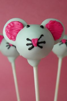 Mouse Cake Pops | Flickr - Photo Sharing!