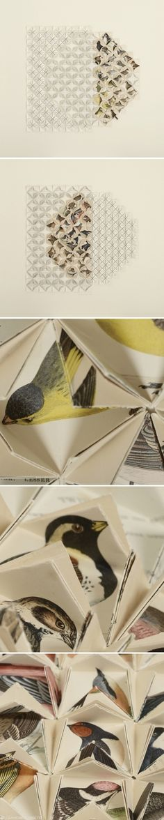 francisca prieto {folded paper - bird journal}