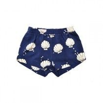 Coquillages et crustacés... what they said. I love these shorts!
