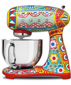 Dolce & Gabbana just teamed up with SMEG, the Italian appliance company, and together they're rolling out a beautiful line of countertop appliances.