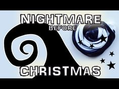 DIY Tim Burton Nightmare before Christmas inspired black and white fluffy slime - how to make slime without borax. Dixipuff