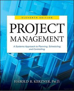 You will download digital wordpdf files for complete solution complete solution manual for project management a systems approach to planning scheduling and controlling edition by harold r fandeluxe Gallery