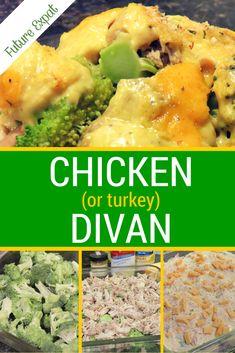 Easy Dinner Recipe: Chicken (or Turkey) Divan   Future Expat - easy ...