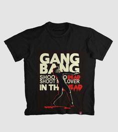 Estampa 'Gang Bang Madonna' no Camiseteria.com. Autoria de Filipe Ribeiro Vieira http://cami.st/d/55577